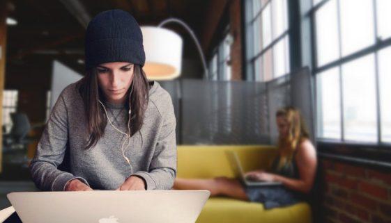 Le travail dans un espace de coworking